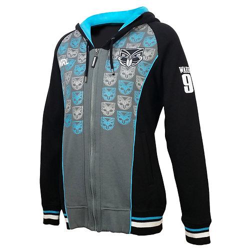 Warriors Zip-up Hoodie Ladies Fit size 9nz5hdz1L