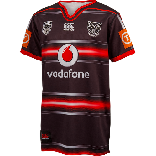 Warriors U20 2016 Adults home jersey B976864