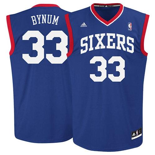 NBA Philadelphia 76ers Andrew Bynum 33 Singlet