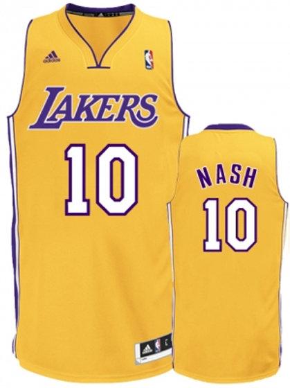 NBA LA Lakers Steve Nash 10 Singlet