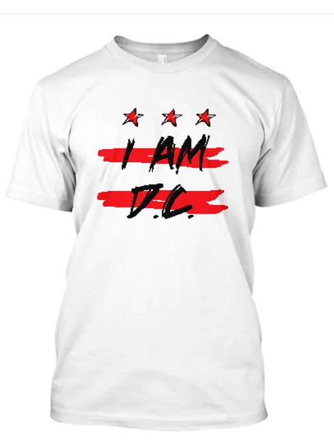 I Am PG WHT T-Shirt