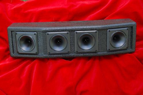 JAH HT4001 Quad Horn Tweeter Cabinet