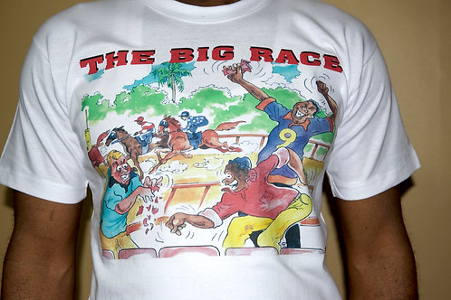 The Big Race WHT T-Shirt