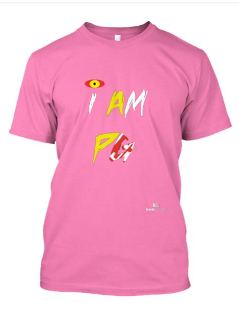 I Am PG T-Shirt Pink