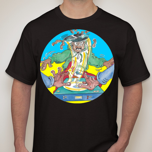 Snip Magenta/BLK T-Shirt