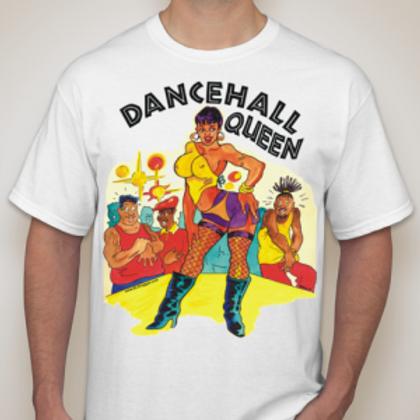 Dancehall Queen WHT T-Shirt