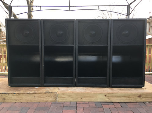 BLR 1000 Watts RMS Folded Horn Bass Cabinets (1ea)