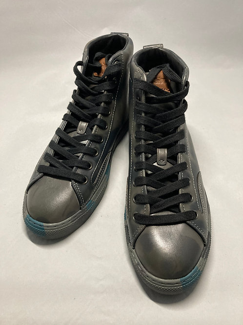 COACH C227 CAMOUFLAGE HIGH TOP SNEAKER SIZE 7