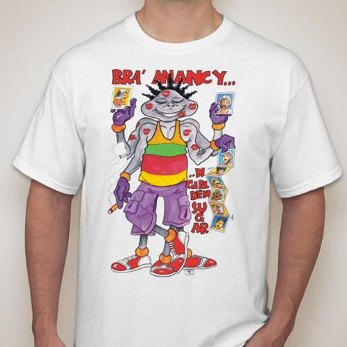 Bra Anancy Di Lover WHT T-Shirt
