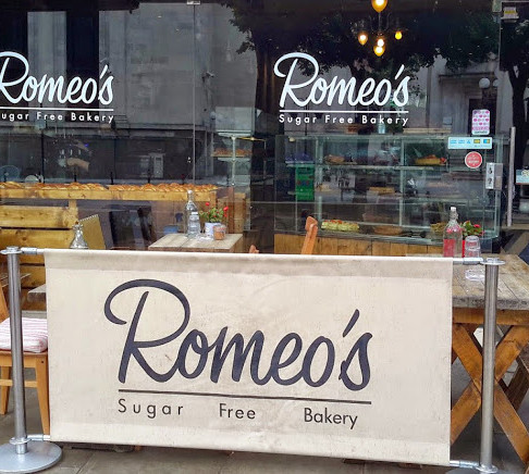 A guilt free visit at Romeo's - London's first sugar free bakery