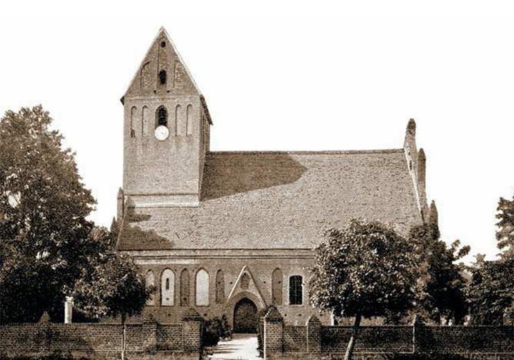 Kirche um 1900