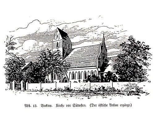 Kirche mit Anbau