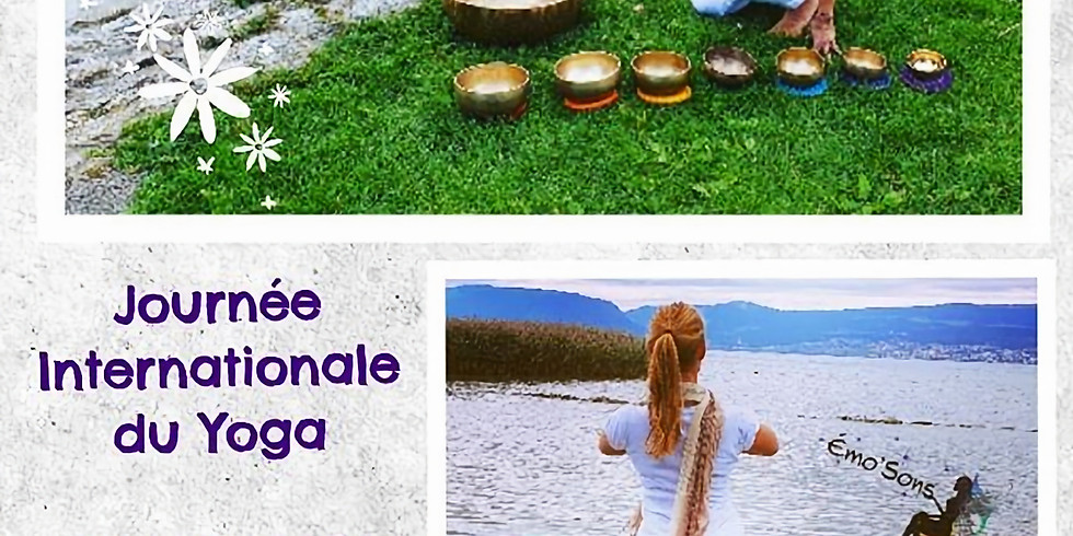 Journée Internationale du Yoga- Méditation en mouvement et Sonore
