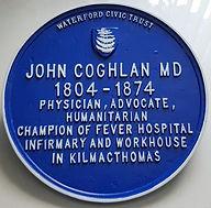 Dr John Coghlan Plaque
