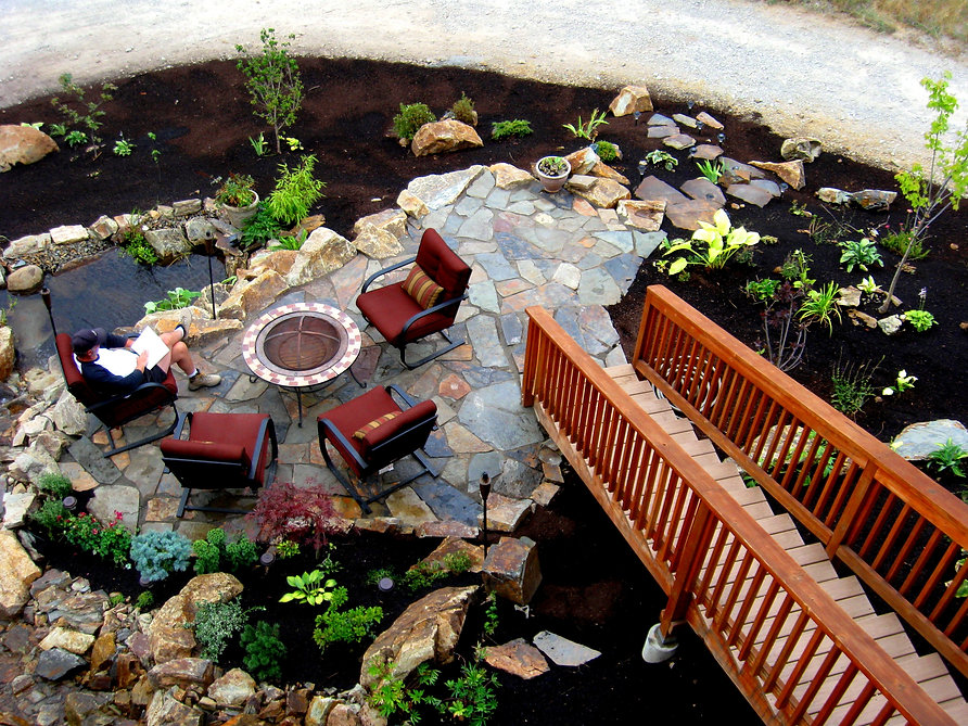 Waterfalls North West Professional Landscaping And Lawn