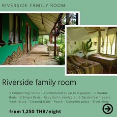 Riverside double family room