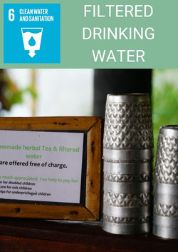6 FILTERED DRINKING WATER