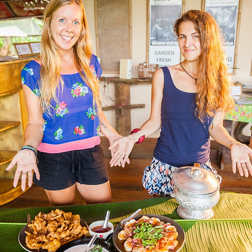 THE TASTE OF PAKSONG : cooking real Thai food
