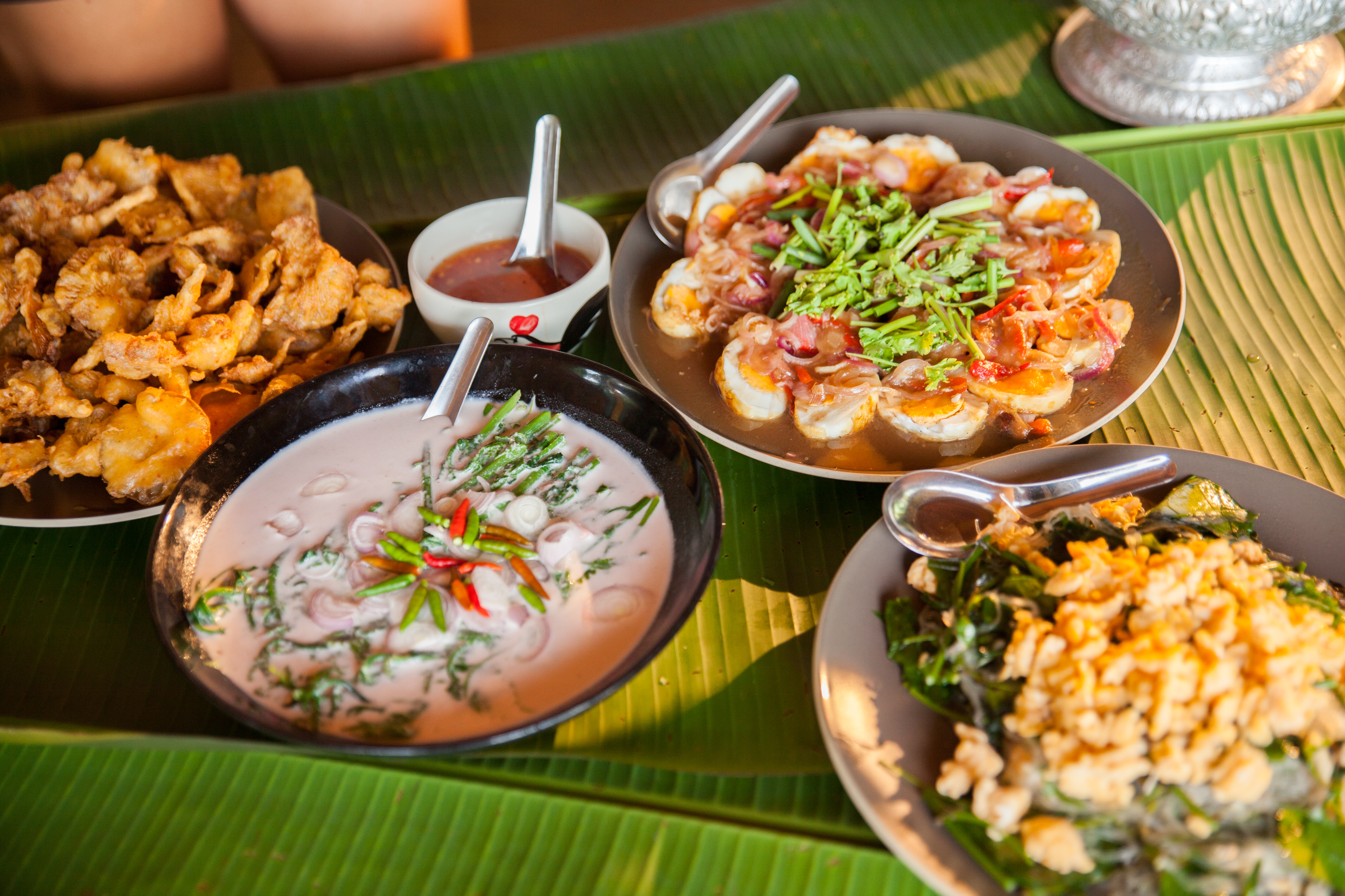 Traditional Thai food