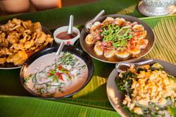 Traditional Thai food