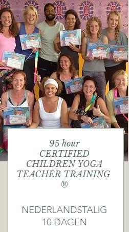 A Dutch Spoken Certified Children Yoga Teacher Training | October 2019