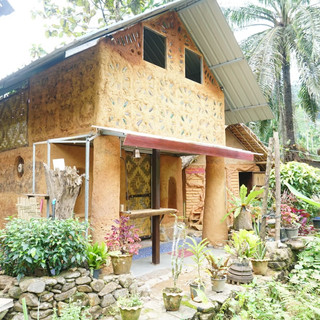 Adobe Clay House