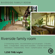 Riverside double family room