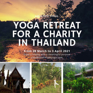 YOga retreat for a charity in Thailand (