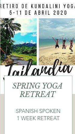 Spanish spoken yoga retreat | April