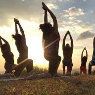 Yoga in nature