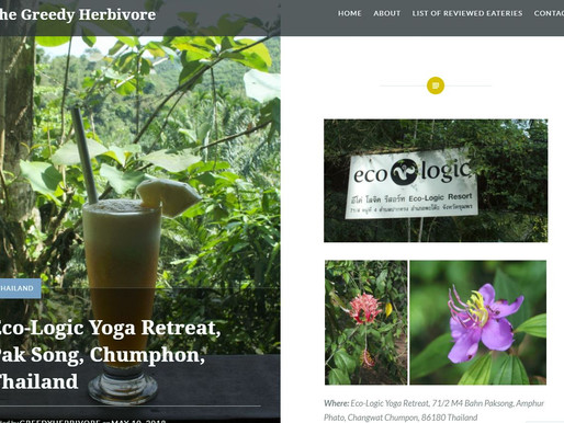 Eco-Logic Yoga Retreat.  A blog by Fiona Halliday