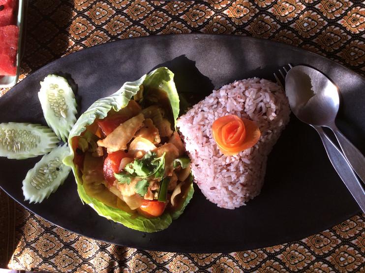 food restaurant stirfried vegetables ric