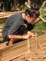 Work with bamboo