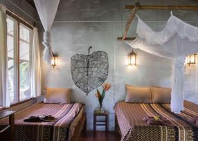 Stay in a riverside guestroom @ Eco-Logic