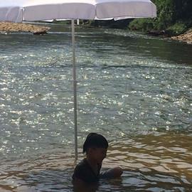 Riverside fun!