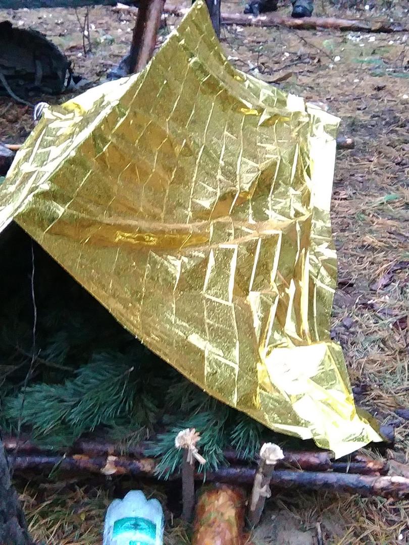 Improwizowane schronienie survivalowe II