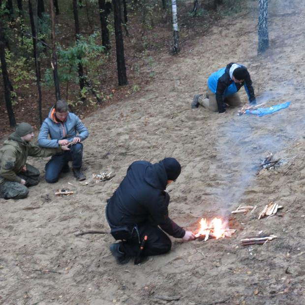 Szkolenie survivalowe - metody rozpalania ognia