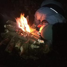 Rozdmuchiwanie ogniska odwrotnego.