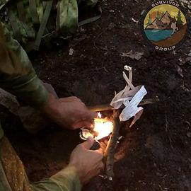 Rozpalanie Ognia Krzesiwem