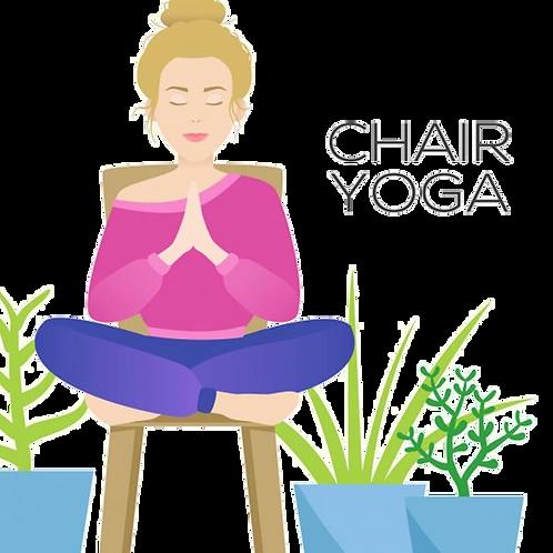 Chair Yoga (May 20th at 4:30 PM)