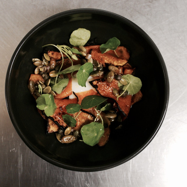 Carrot, Walnut, Yoghurt, Honeycomb
