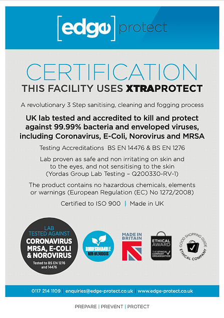 Edge Protect Certificate