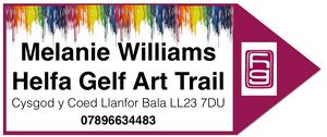 Helfa Gelf Art Trail - Open Studio Event - Melanie Williams - Encaustic Artist - Bala