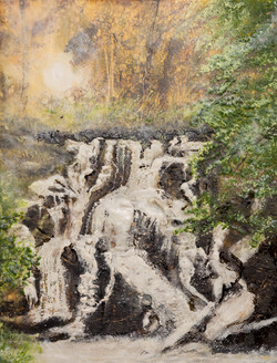 Rhaeadr Betws y Coed Waterfall