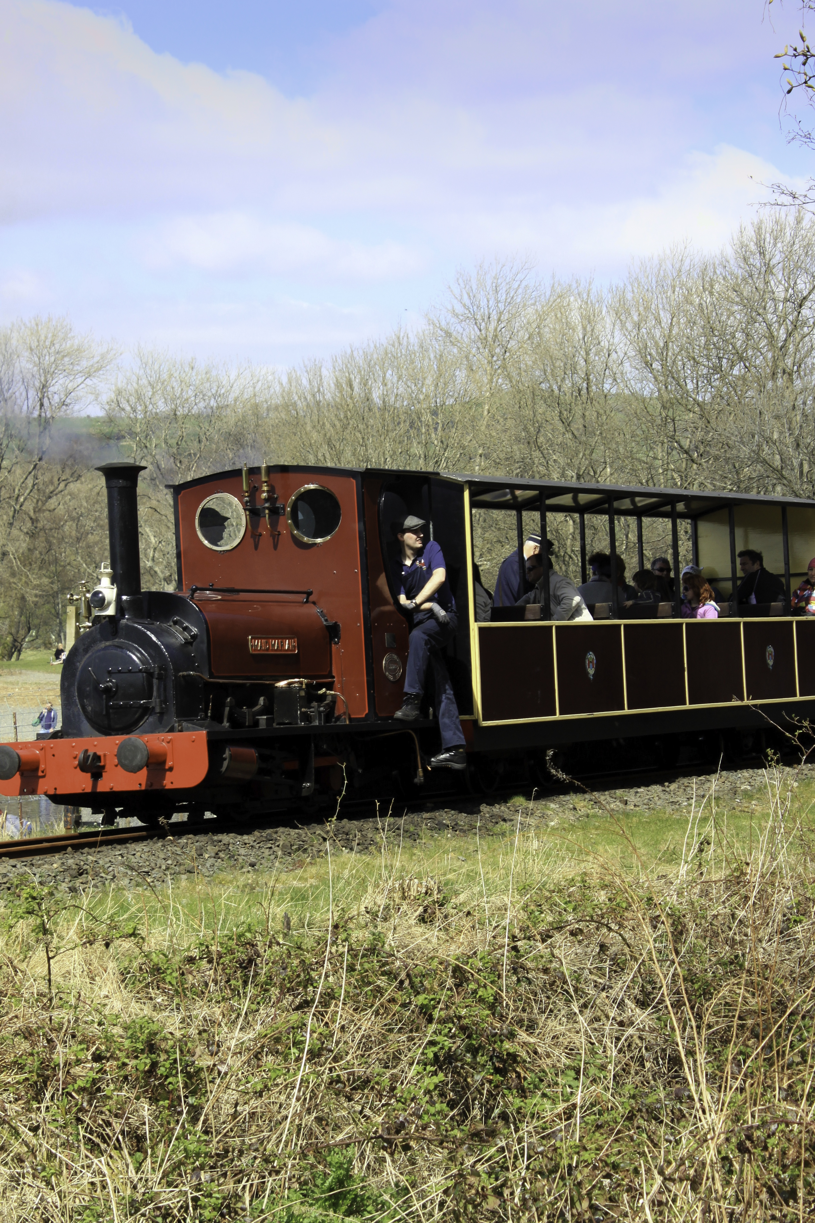 Ride on the Bala Lake Railway