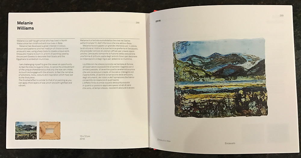 My pages in the Imago Mundi book