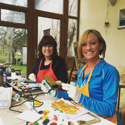 Mel  & Ruth  from ITV Coast & Country Programme