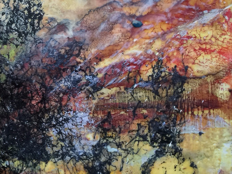 Layering with Encaustic