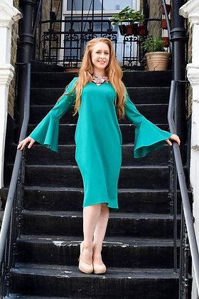 Emerald Belle Dress