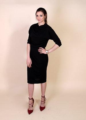 Black Wave Dress`